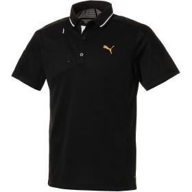 【プーマ公式通販】 プーマ ゴルフ ジップポケット SSポロシャツ (半袖) メンズ Puma Black |PUMA.com