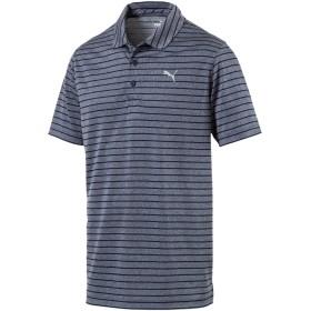 【プーマ公式通販】 プーマ ゴルフ ローテーション ストライプ ポロシャツ 半袖 メンズ Peacoat |PUMA.com