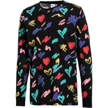 【プーマ公式通販】 プーマ PUMA x BRADLEY THEODORE LS Tシャツ 長袖 メンズ Puma Black-AOP  PUMA.com