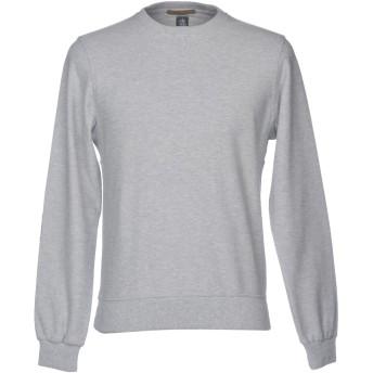 《セール開催中》ELEVENTY メンズ スウェットシャツ ライトグレー S 100% コットン