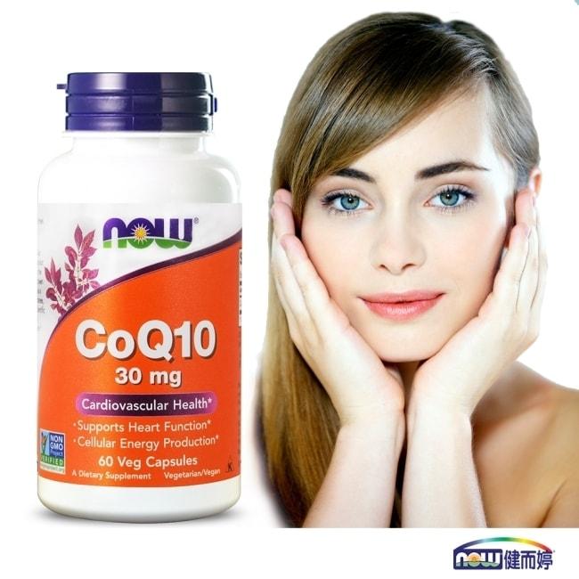 NOW健而婷 精純CoQ10膠囊食品 1瓶60顆