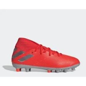 (セール)adidas(アディダス)サッカー ジュニアスパイク ネメシス 19.3-ジャパン HG/AG J GNG27 EF8845 ボーイズ アクティブレッドS19/シルバーメット/ソーラーレッド