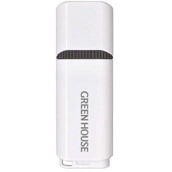 グリーンハウス(GREEN HOUSE) GH-UFY3EB16GGY USB3.0メモリー キャップタイプ 16GB ホワイト グレー
