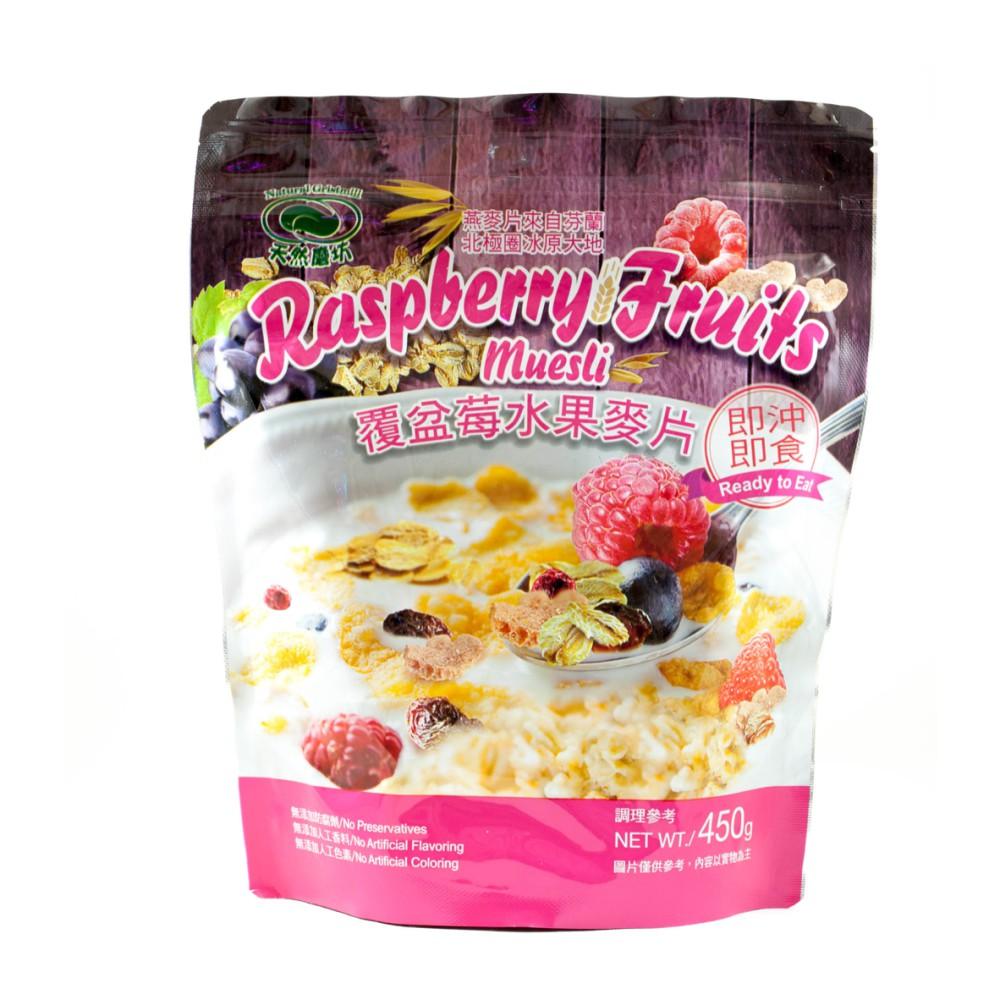 《天然磨坊》覆盆莓水果麥片 450g/包