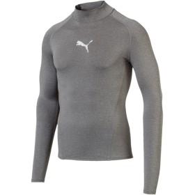 【プーマ公式通販】 プーマ テック ライト LSモックネック ヘザー Tシャツ (長袖) メンズ Medium Gray Heather |PUMA.com