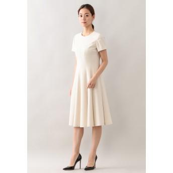 EPOCA エアーフラノ ドレス ワンピース,オフホワイト