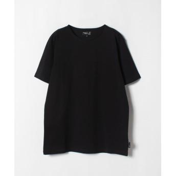 アニエスベー J000 TS コットンTシャツ メンズ ブラック 1 【agnes b.】