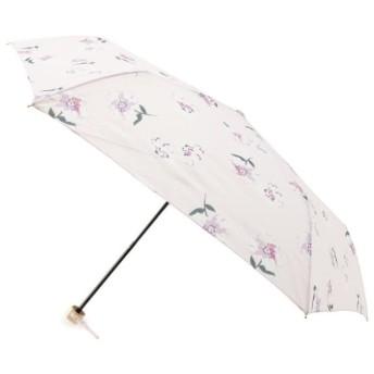 ピンクアドベ Wpc. ガーリーフラワーミニ雨傘折りたたみ レディース ベビーピンク(071) 00 【pink adobe】