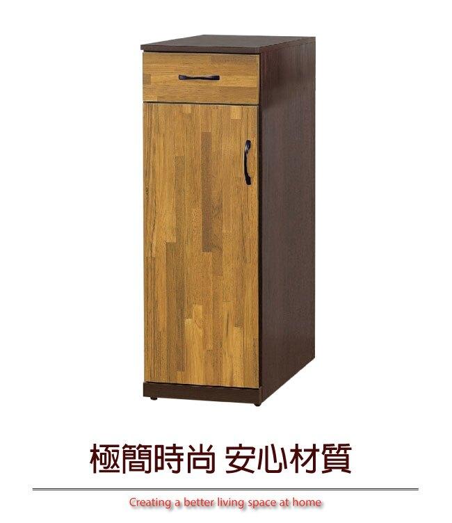【綠家居】里莎 時尚1.3尺單門高鞋櫃/玄關櫃(二色可選)