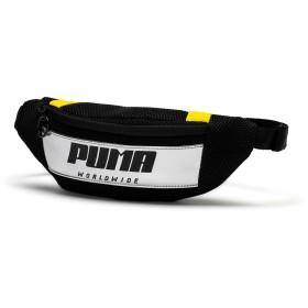 【プーマ公式通販】 プーマ ウィメンズ プライム ストリート ウエストバッグ (1.5L) ウィメンズ Puma Black-Blazing Yellow |PUMA.com