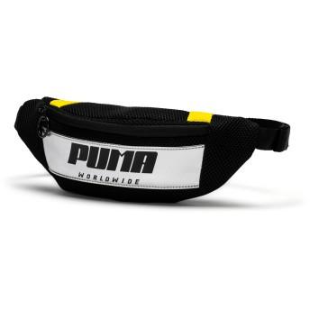 【プーマ公式通販】 プーマ ウィメンズ プライム ストリート ウエストバッグ 1.5L ウィメンズ Puma Black-Blazing Yellow |PUMA.com
