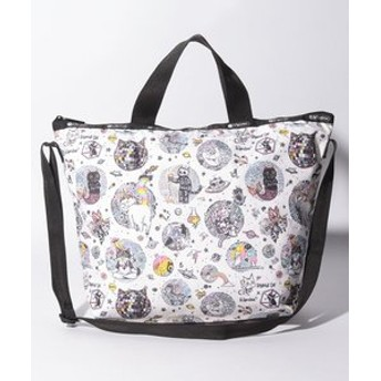 【LeSportsac:バッグ】EASY CARRY TOTE/ストレンジキャットファミリー