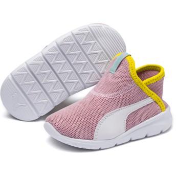 【プーマ公式通販】 キッズ プーマ バオ 3 ソック PS 17-21cm ユニセックス Pale Pink-White-Blazi Yellow |PUMA.com