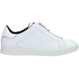《セール開催中》GEOX レディース スニーカー&テニスシューズ(ローカット) ホワイト 35 革 紡績繊維
