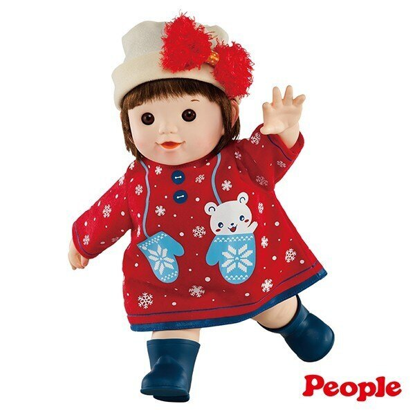 【淘氣寶寶*任兩件95折】日本 POPO-CHAN 洋娃娃系列 蝴蝶結毛帽POPO-CHAN