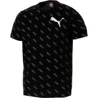 【プーマ公式通販】 プーマ SUMMER ロゴ AOP Tシャツ メンズ Cotton Black-AOP |PUMA.com