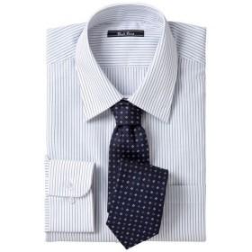 【メンズ】 先染め形態安定ビジネスシャツ(長袖) ■カラー:レギュラーカラー ■サイズ:L,M,LL