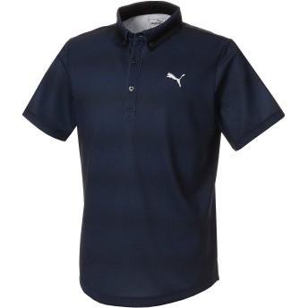 【プーマ公式通販】 プーマ ゴルフ グラデーション コア SSポロシャツ 半袖 メンズ Peacoat |PUMA.com