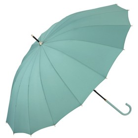 [マルイ] 【雨傘】16本骨無地/丈夫でシックな印象(レディース/長傘)/w.p.c(WPC)