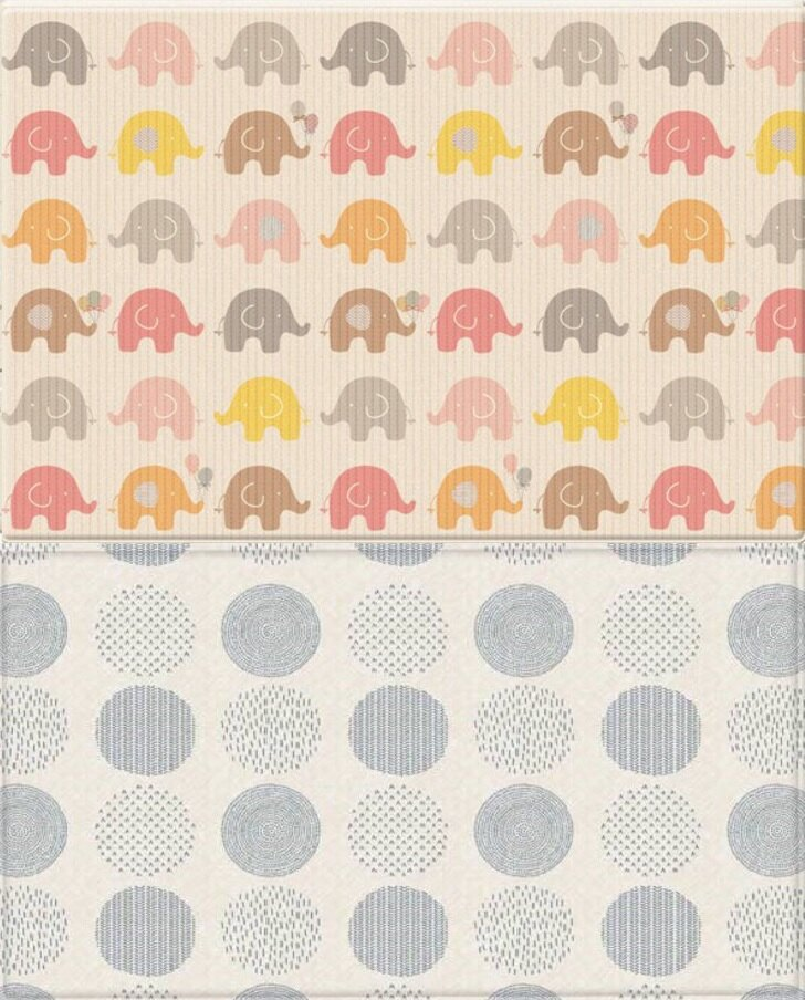 PARKLON 帕龍 地墊 PVC雙面包邊 泡泡遊戲大象