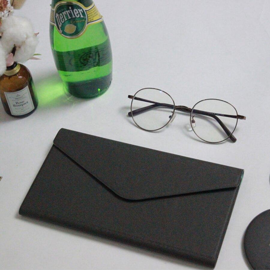 【FENICE】多功能鈔票式護照包 L size(深藍)