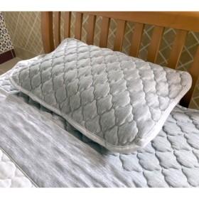 モリリンひんやり感パワーアップ!スーパーデオクリーンコールドインパクト枕パッド同色3枚組