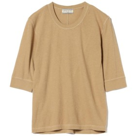ビームス ウィメン Ray BEAMS High Basic / 5分袖 クルーネック Tシャツ レディース CAMEL ONESIZE 【BEAMS WOMEN】