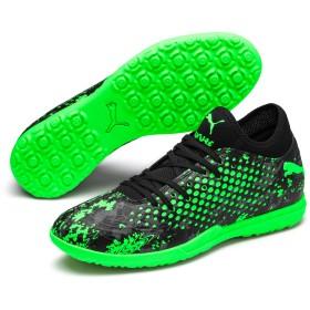 【プーマ公式通販】 プーマ フューチャー 19.4 ターフトレーニング メンズ Black-Gray-Green Gecko |PUMA.com