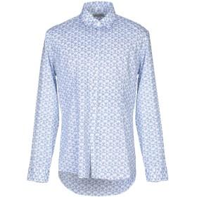 《期間限定セール開催中!》DANIELE ALESSANDRINI HOMME メンズ シャツ ブルー 40 コットン 97% / ポリウレタン 3%