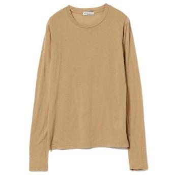 (BEAMS WOMEN/ビームス ウィメン)Ray BEAMS High Basic/スクープネック ロングスリーブ Tシャツ/レディース CAMEL 送料無料