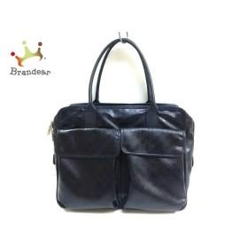ゲラルディーニ GHERARDINI ショルダーバッグ 黒 PVC(塩化ビニール)×レザー 新着 20190708