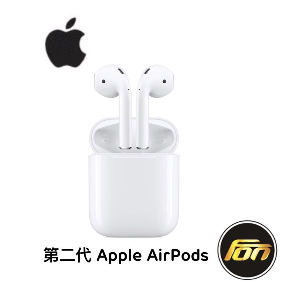 【公司貨】Apple AirPods 第二代 藍芽耳機 無線耳機《下單後請當日完成付款,隔日未付款,不保留商品》無線體驗,淋漓盡致。輕點一下就可完成設定,隨後AirPods就會自動啟動並且時時保持連接