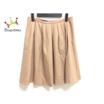 トゥモローランド TOMORROWLAND スカート サイズ38 M レディース ベージュ collection 新着 20190708