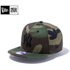 【メーカー取次】NEW ERA ニューエラ Youth キッズ用 9FIFTY MLB ニューヨーク ヤンキース ウッドランドXブラックロゴ 11308372 キャップ 子供用 帽子 ブランド