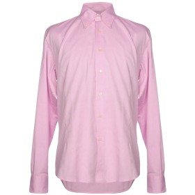 《期間限定セール開催中!》VALENTINO ROMA メンズ シャツ ピンク 41 コットン 100%