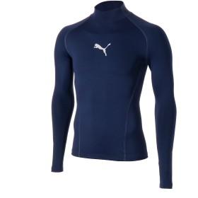 【プーマ公式通販】 プーマ テック ライト LSモックネック Tシャツ 長袖 メンズ Peacoat |PUMA.com