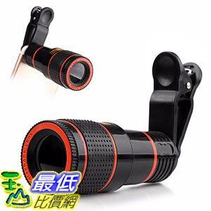 [106美國直購] 12倍手機鏡頭望遠鏡 Cellphone Camera Lens B071WKFBYV 12X Optical Zoom Focus Mobile Phone Lens