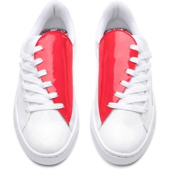 【プーマ公式通販】 プーマ バスケット クラッシュ ウィメンズ ウィメンズ Puma White-Hibiscus  PUMA.com