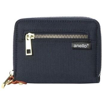 アネロ anello ポーチ ポリキャンバス ジップ折り財布 AT-B1222