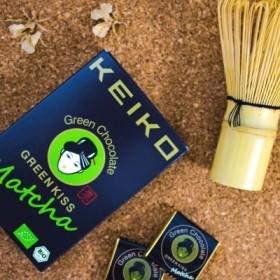 高級オーガニック緑茶チョコレート「GREEN KISS」3箱