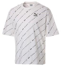 【プーマ公式通販】 プーマ 90S RETRO AOP SS Tシャツ (半袖) メンズ Puma White |PUMA.com