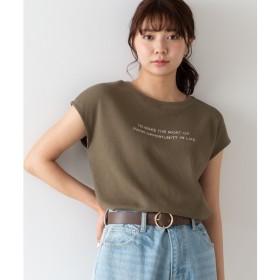 [マルイ]【セール】ワッフルロゴノースリーブTシャツ/ウィゴー(レディース)(WEGO)