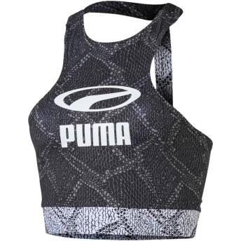 【プーマ公式通販】 プーマ SNAKE PACK ウィメンズ クロップド トップ ウィメンズ Puma Black-AOP |PUMA.com
