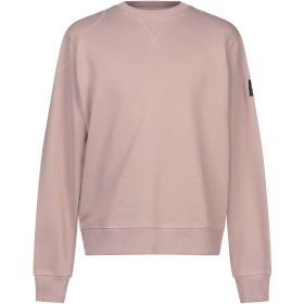 《期間限定 セール開催中》BELSTAFF メンズ スウェットシャツ ライトブラウン XXL コットン 100%