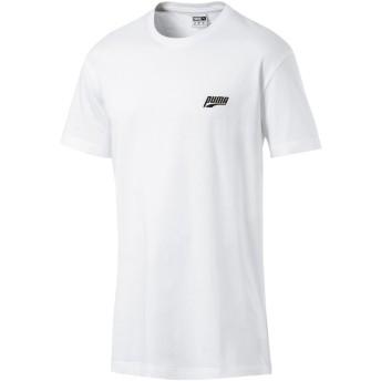 【プーマ公式通販】 プーマ GRAPHIC MULTIPLE LOGO SS Tシャツ (半袖) メンズ Puma White |PUMA.com