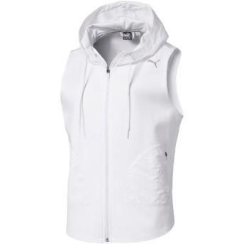 【プーマ公式通販】 プーマ EVOSTRIPE SL ウィメンズ フーデッドジャケット (タンクトップ) ウィメンズ Puma White |PUMA.com