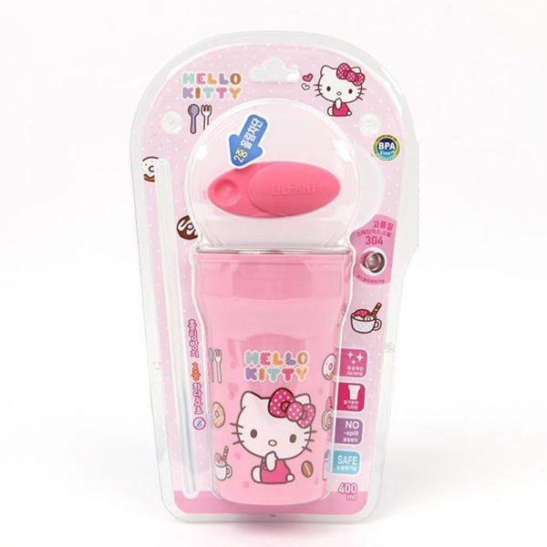 Milano Zoom Hello Kitty溢出預防染色吸管杯