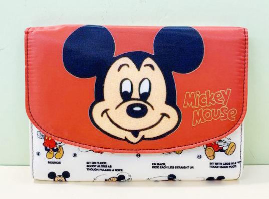 【震撼精品百貨】Micky Mouse_米奇/米妮 ~手帳收納包~米奇紅#04519