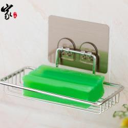 House Factory 家工廠 無痕貼不鏽鋼瀝水肥皂架(收納架 置物架 肥皂架)