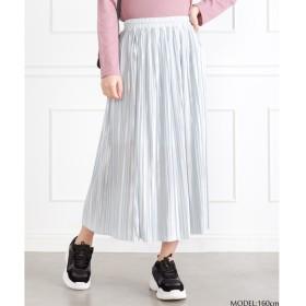 SpRay サテンプリーツスカート M レディース 5,000円(税抜)以上購入で送料無料 夏 レディースファッション アパレル 通販 大きいサイズ コーデ 安い おしゃれ お洒落 20代 30代 40代 50代 女性 スカート